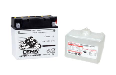 Batería de moto YB16CL-B   Plomo ácido CB16CL-B