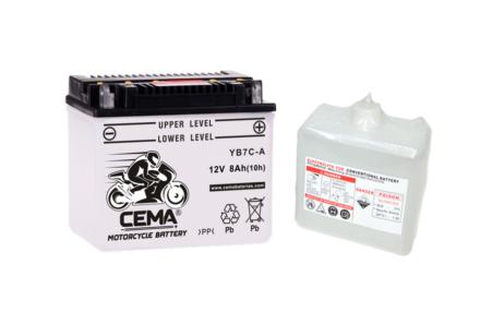 Batería de moto YB7C-A