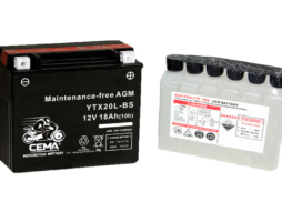 Batería de moto YTX20L-BS
