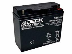 Bateria AGM 12v 19Ah Deck Sellada DB12-19