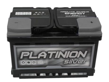 Batería de coche 74 ah   PLATINION Silver