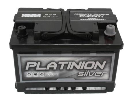 Batería de coche 85Ah   PLATINION Silver