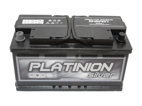 Batería de coche 90ah Izquierda | PLATINION Silver