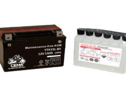 Batería de moto YTX15L-BS