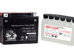 Batería de moto YTX20HL-BS | AGM Hermética YTX20HL-4