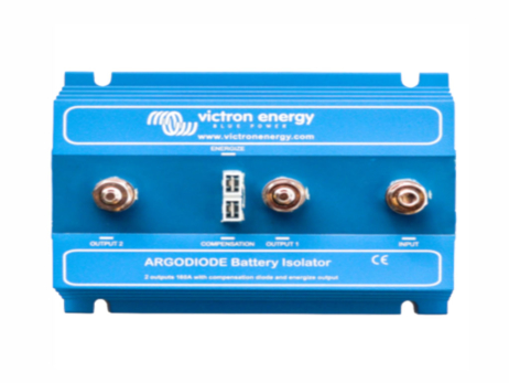 Separador VICTRON 160-2AC para 2 baterías 160ah