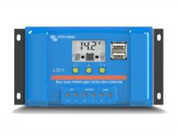 Controlador De Carga BlueSolar PWM-LCD&USB 48V 10A