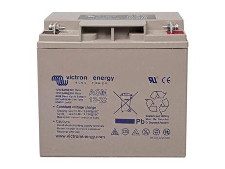 Batería Victron AGM Deep Cycle Batt.12V 22Ah