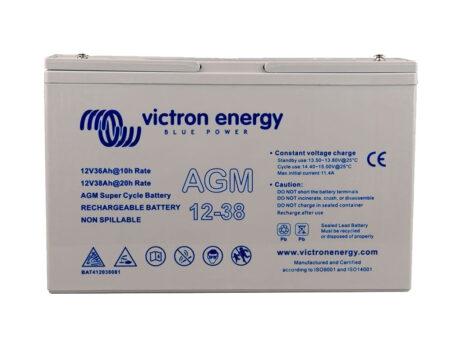 Batería Victron AGM Deep Cycle Batt.12V 38Ah