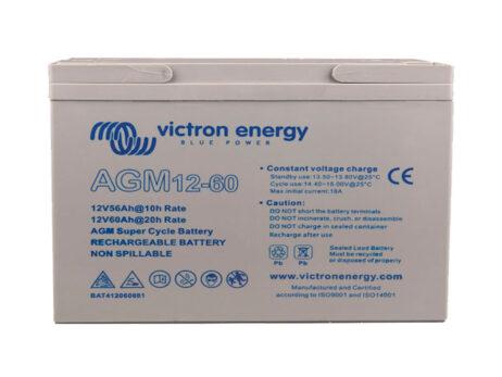 Batería Victron AGM Deep Cycle Batt.12V 60Ah