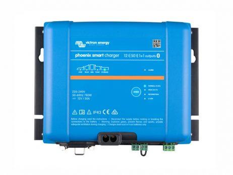 Cargador de baterías 12/50 (1+1) Phoenix Smart IP43
