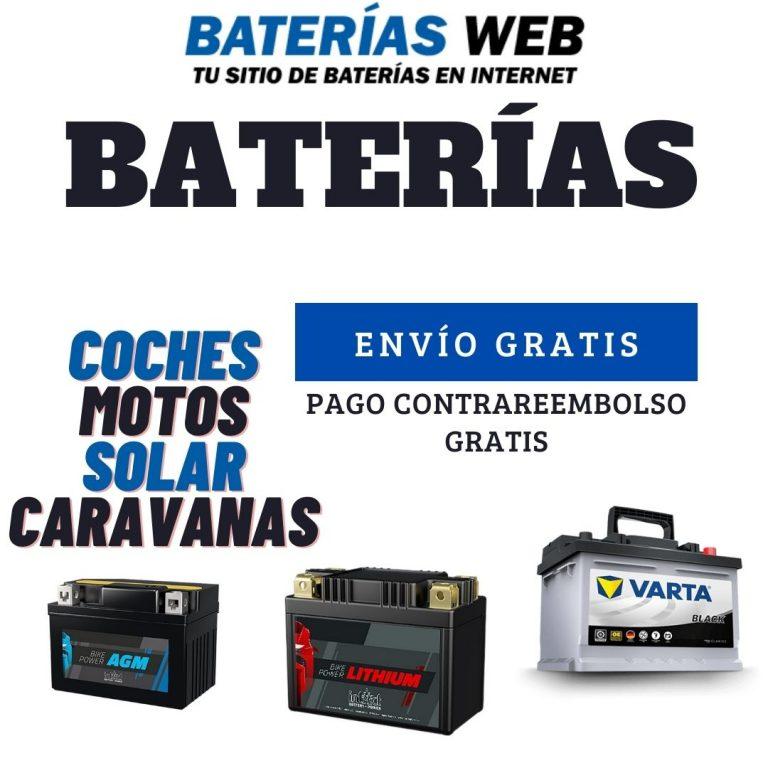 Compra baterias en Sevilla