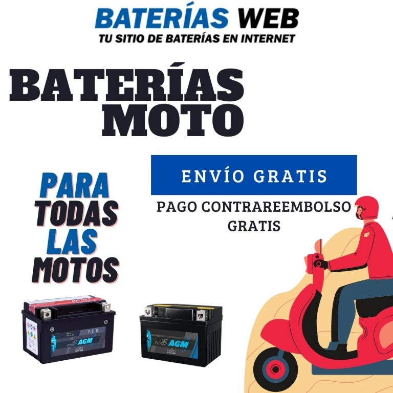 Baterias para moto en Sevilla
