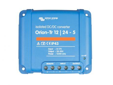 Convertidor CC-CC Orion 12V-24V 5A (120W) Aislado