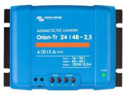 Convertidor CC-CC Orion 24V-48V 2_5A (120W) Aislado