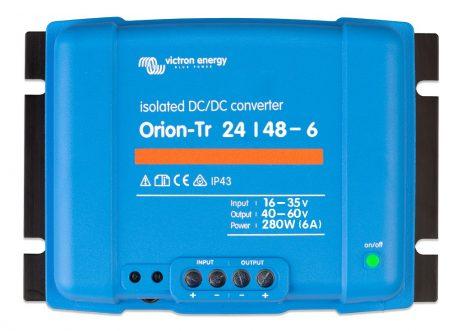Convertidor CC-CC Orion 24V-48V 6A (280W) Aislado