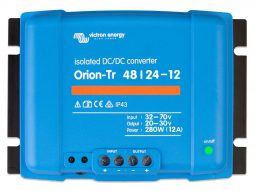 Convertidor CC-CC Orion 48V-24V 12A (280W) Aislado