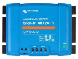 Convertidor CC-CC Orion 48V-24V 5A (120W) Aislado