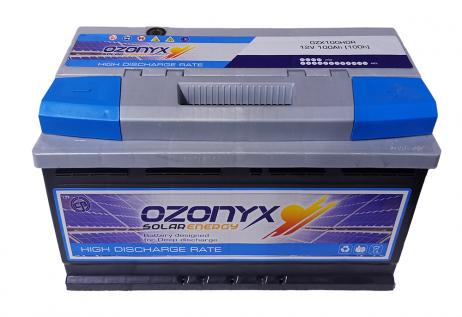 Batería Solar 100Ah OZONYX Alta Descarga
