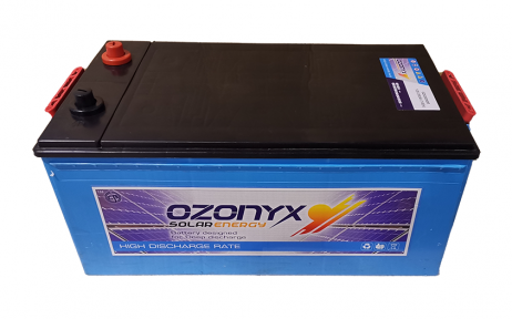 Batería Solar 200Ah OZONYX Alta Descarga