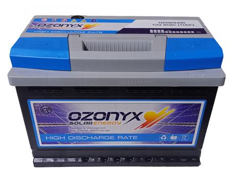 Batería Solar 90Ah OZONYX Alta Descarga