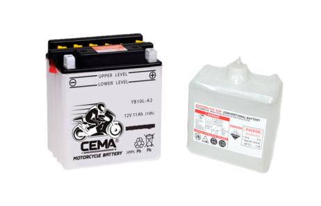 Batería de moto YB10L-A2