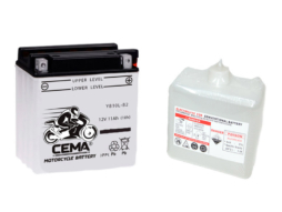 Batería de moto YB10L-B | Plomo ácido CB10L-B2