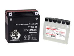 Batería de moto YTX20-BS | AGM Hermética YTX20-4