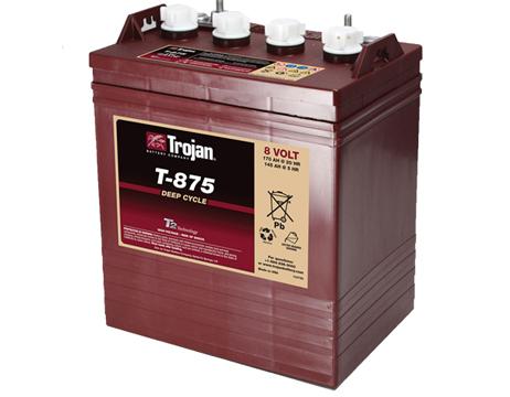 Bateria TROJAN T875