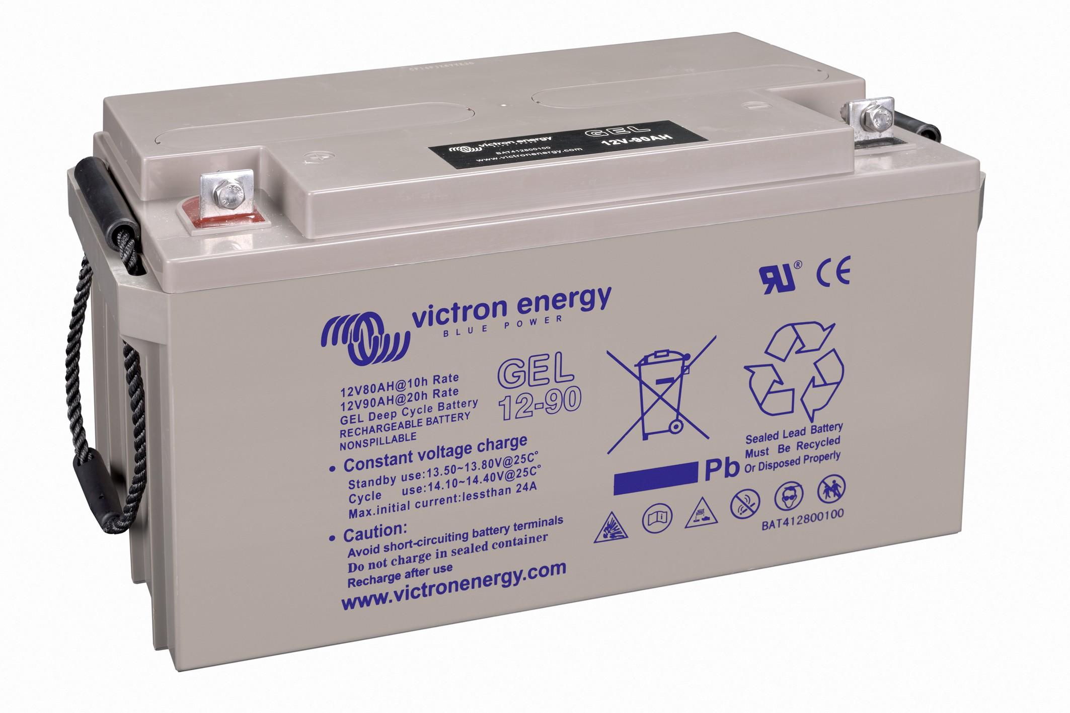 Bater 237 A Gel 12v 90ah Victron Baterias Web