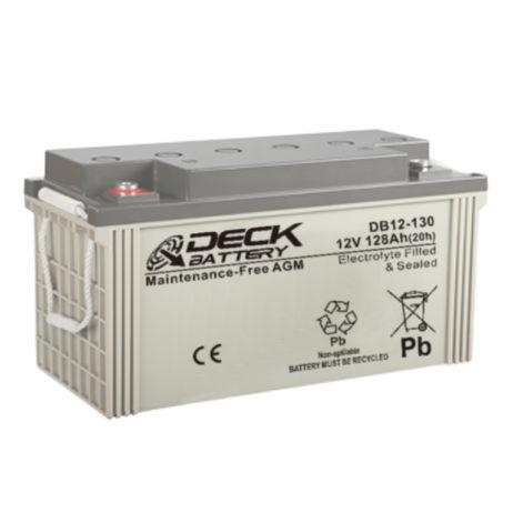 Bateria AGM 12v 128Ah Deck Sellada DB12-130