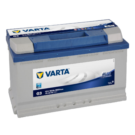 BATERÍA G3 VARTA 95AH 12V BLUE DYNAMIC