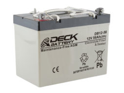 Bateria AGM 12v 56Ah Deck Sellada DB12-56