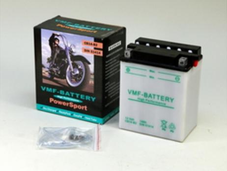 Batería de moto YB14-B2 | Plomo ácido CB14-B2