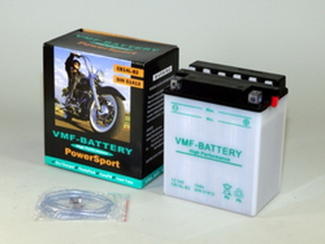 Batería de moto YB14L-B2 | Plomo ácido CB14L-B2