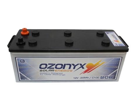 Batería Solar 205AH | OZONYX Solar Abierta