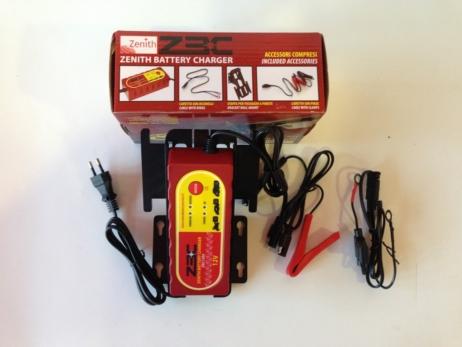 Cargador de batería pequeño zenith ZBC 12V