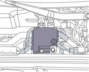 Cambiar batería de coche Audi a4 paso 3