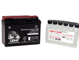 Batería de moto YTR4A-BS