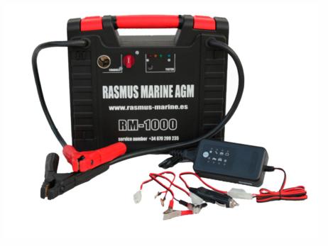 Arrancador Rasmus Marine AGM PFP1000 - 12V
