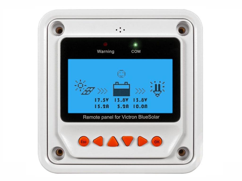 Panel de control remoto para el BlueSolar PWM-Pro