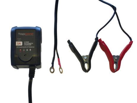 Cargador de baterías 12V 1A Topcore