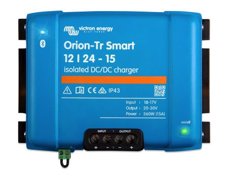 Cargador de baterias victron orion tr-smart 12-24 15 dc-dc aislado