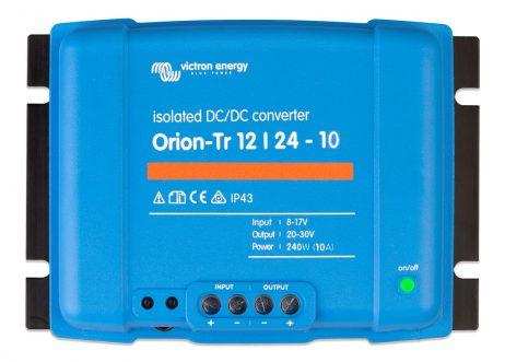 Convertidor CC-CC Orion 12V-24V 10A (240W) Aislado