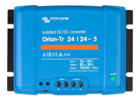 Convertidor CC-CC Orion 24V-24V 5A (120W) Aislado