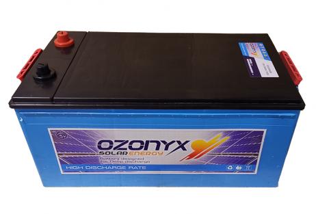 Batería Solar 260Ah OZONYX Alta Descarga