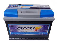 Batería Solar 80Ah OZONYX Alta Descarga