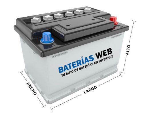 medidas batería